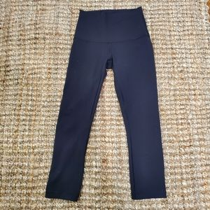Lululemon Like New Wunder Under High Rise Crop